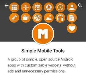 Приложений от Simple Mobile Tools