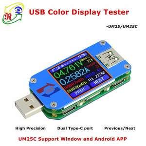 Акция на новую версию умных USB тестеров UM25C/UM25 от Ruideng Technologies