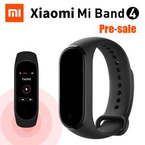 Предзаказ на браслет Xiaomi MiBand4 ($38.99)