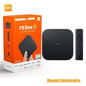 Xiaomi Mi Box S Smart WIFI Bluetooth 4K HDR Android TV Box