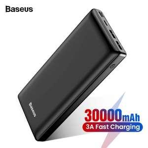Baseus 30000 mAh power Bank с быстрой зарядкой