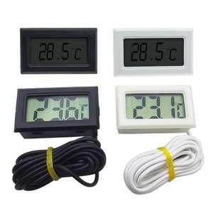 Цифровой термометр с выносным датчиком длиной 1м за $0.98