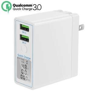 Зарядное устройство на 36 Вт Dual USB Quick Charge 3.0