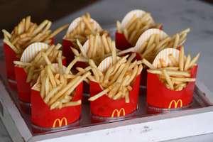 Две порции стандартного картофеля за 85₽ в Макдоналдс