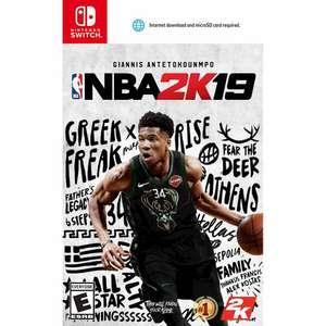 NBA 2K19 для Nintendo Switch