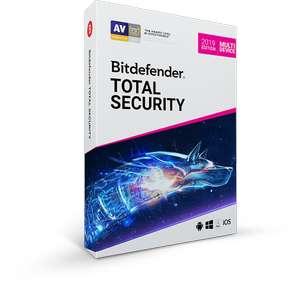 Bitdefender Total Security (5 устройств / 90 дней). Расширение лицензии.