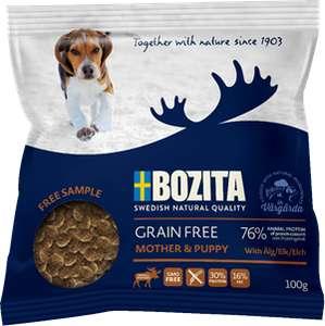 Бесплатный корм для собак от BOZITA