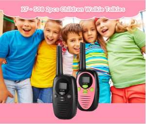 Детские рации XF - 508 2 шт. (до 3км) за $12.49