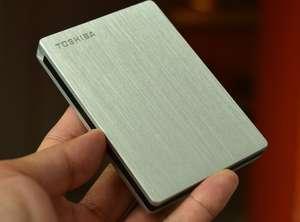 Внешний HDD 2TB Toshiba Canvio Slim HDTD320ES3EA