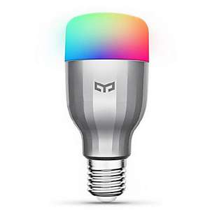 xiaomi yeelight 220v e27 smart led bulb с поддержкой amazon alexa / google home