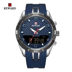 Мужской кварцевые часы REWARD 63095 за 19.99$