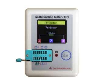 Цветной тестер компонентов LCR-TC1 (за $12)