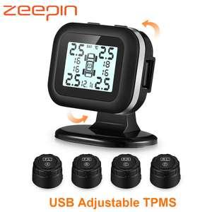 TPMS-система контроля давления в шинах (внешние датчики) за $15.93
