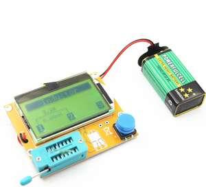 Тестер компонентов  LCR-T4  начального уровня с графическим дисплеем (за $4)