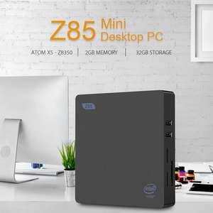Мини ПК Z85 2GB / 32GB Intel Atom x5 - Z8350 за $79.99