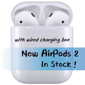 Airpods 2 без беспроводной зарядки чехла