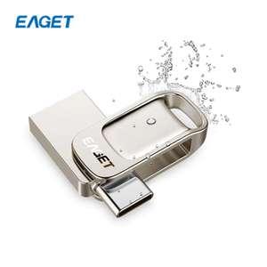 Флэшка EAGET CU31 32 Гб (USB 3.0 и Type-C)