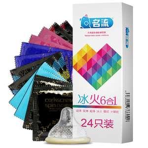 Презервативы Mingliu (24 шт.) за $3.3