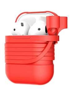 Чехол для AirPods Baseus TZARGS-09, красный