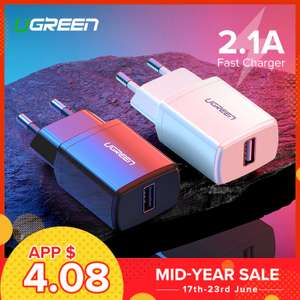 UGreen зарядное устройство 2А 5В