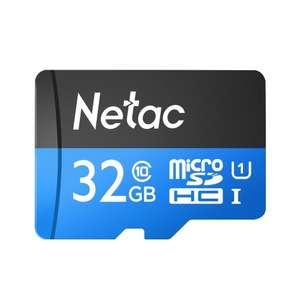 Netac P500 Class 10 32G Micro SDHC TF Карта памяти
