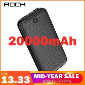 ROCK Power Bank 20000 мА-ч