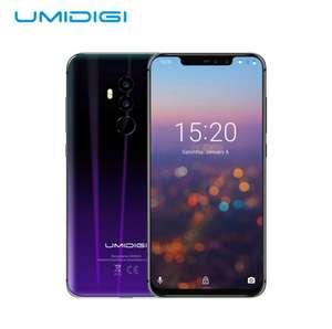 "UMIDIGI Z2 Global Edition Helio P23, 6 ГБ/64 ГБ ПЗУ 6.2"", Android 8.1 3850 мАч Face ID 4G"