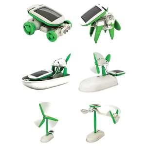 Игрушка-конструктор с солнечной батареей за $2.5