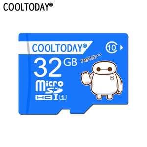 Micro SD 32 Гб Cooltoday Baymax