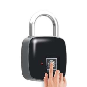 Смарт замок P3 со сканером отпечатков пальцев за $16.6