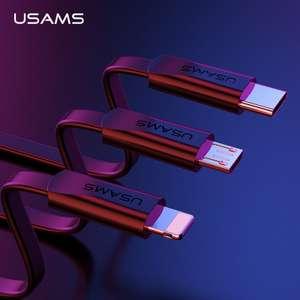 Плоский кабель USAMS для зарядки/передачи данных