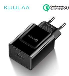 Зарядное устройство KUULAA - 18 Вт, QC 3.0