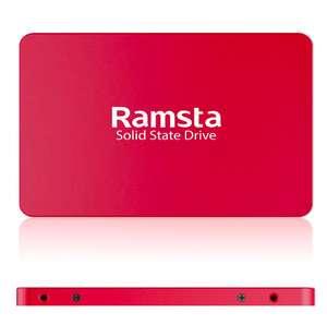 SSD Ramsta S600 480GB за $86.9