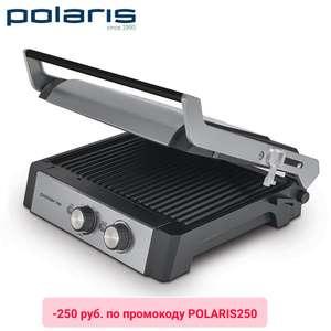 Скидки на Polaris в Tmall до 60% + сковорода в подарок (напр. гриль Polaris PGP 1302 Expert)