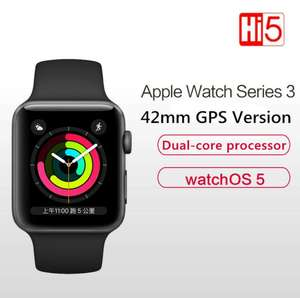 Apple Watch Series 3 GPS-версия, 42 мм, смарт-часы
