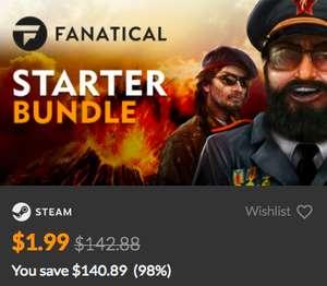 10 игр в Steam за $1.9 (вместо $140)