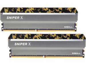 16GB (2x8GB) DIMM DDR4-3600 CL18 G.SKILL Sniper X