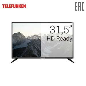 """Телевизор 31,5"""" Telefunken TF-LED32S93T2S HD Smart TV"""