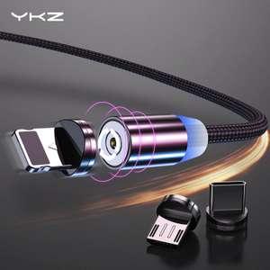 Магнитные кабели YKZ 2.4A от 1.23$
