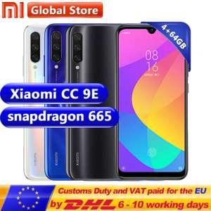 Смартфон Xiaomi Mi CC9E (4/64, Snapdragon 665, 4030mAh, AMOLED)