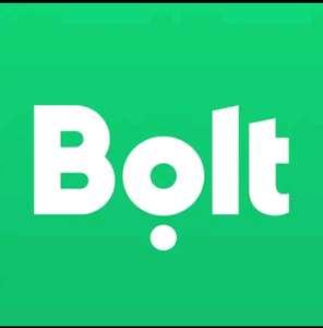 Такси Bolt (Taxify) Скидка 300 рублей на первую поездку. Плюс 5 поездок с 50%