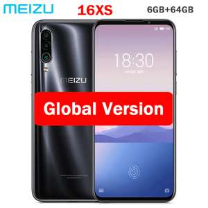 Смартфон Meizu 16XS Global Version (6/64, USB Type-C, Super AMOLED, Snapdragon 675) за 248$
