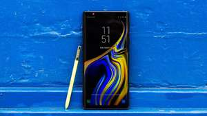 Samsung Galaxy Note 9 128gb, black/blue (в связном)