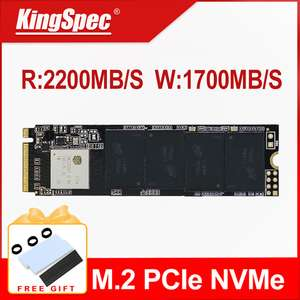KingSpec M2 SSD NVME 2280 256 ГБ