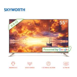 "Телевизор 55"" Skyworth 55G2A 4K AI TV Android 8.0"