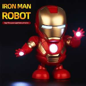 Игрушка танцующий Железный Человек