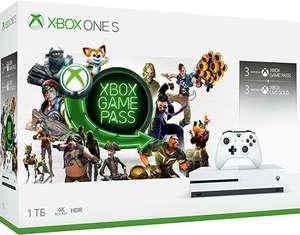 Microsoft Xbox One S 1TB + 3 месяца Game Pass + 3 месяца Live Gold