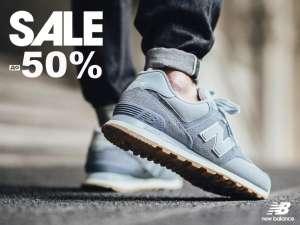 New Balance скидка 50% + 500₽ по промокоду