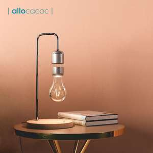 Allocacoc Настольная лампа с левитирующей лампочкой за 49,58$