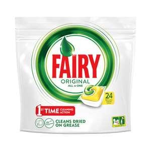 средство для посудомоечной машины Fairy, 24 шт